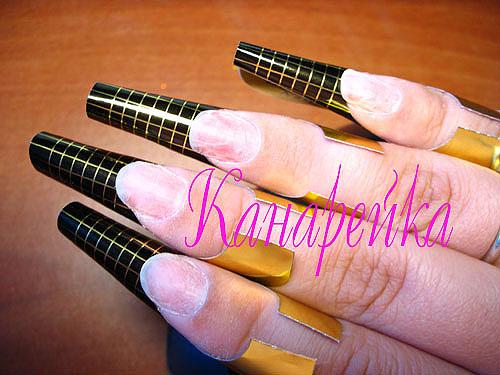 Мастер-класс по наращиванию ногтей